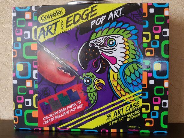 Набор для рисования в чемодане Crayola Art with Edge Coloring Book.