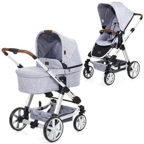 WYSYŁKA GRATIS Wielofunkcyjny wózek ABC Condor 4 design, szary