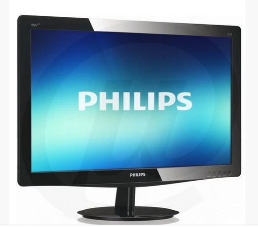 "Монитор б/у Philips 196V3L,18.5"" LED TN, 1366x768 (16:9), VGA, DVI"