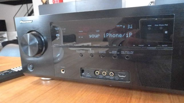 Pioneer VSX 921K 7.1 Channel 125 Watt Receiver