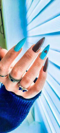 Маникюр, наращивание ногтей, гель-лак, ногти