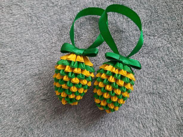 Hit pisanki jajka małe Wielkanocne 3D origami ręcznie wykonane wzór 3a