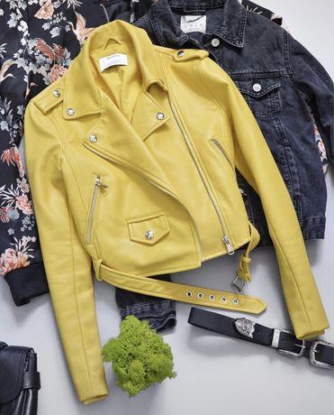Куртка косуха кожанка Bershka бершка