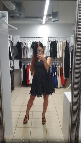 Sukienka z cekinami 34 36 XS S