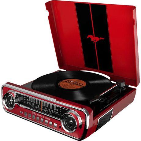 Gramofon ION MUSTANG LP, radio FM, USB, AUX, Nowy, 2 kolory