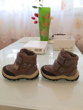 Ботинки для девочки Geox respira amphibox, 20 размер