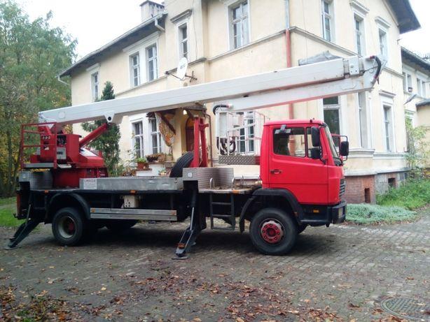 Podnośnik koszowy wynajem 27 m oraz 18 m na podwoziu 4x4 Bydgoszcz