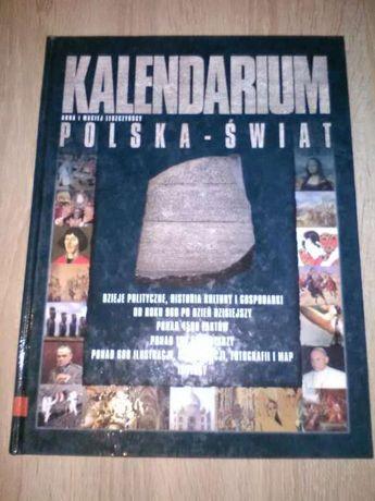 Książka - Kalendarium Polska - Świat.