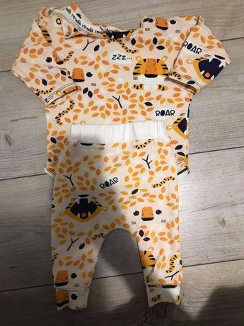 Komplet niemowlęcy I love milk rozmiar 50/56