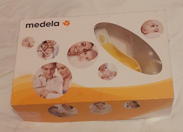Механический молокоотсос Medela + в подарок силиконовые накладки