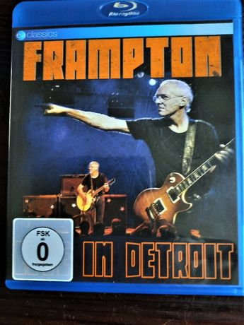 Sprzedam Album Legenda Rock-a Peter Frampton: Live In Detroit Blu Ray