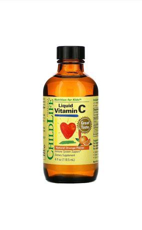 Высоколиквидный витаминC от ChildLife