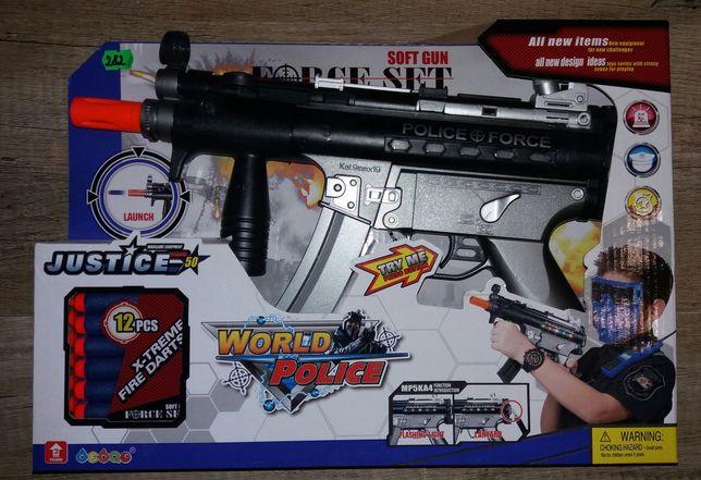 Детский автомат с мягкими пулями
