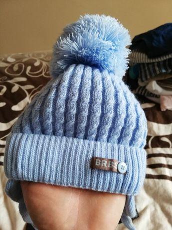 Czapka zimowa niebieska
