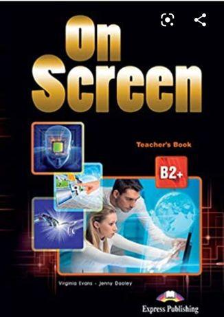 On screen b2  teacher's(Ответы) , students, work, cd,pdf ЕЛЕКТРОННІ