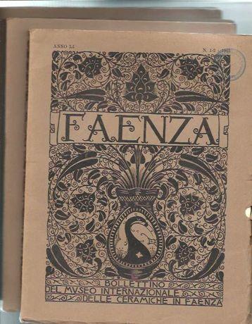Faenza – Bolletino del Museo Internazionale delle Ceramiche - 1965