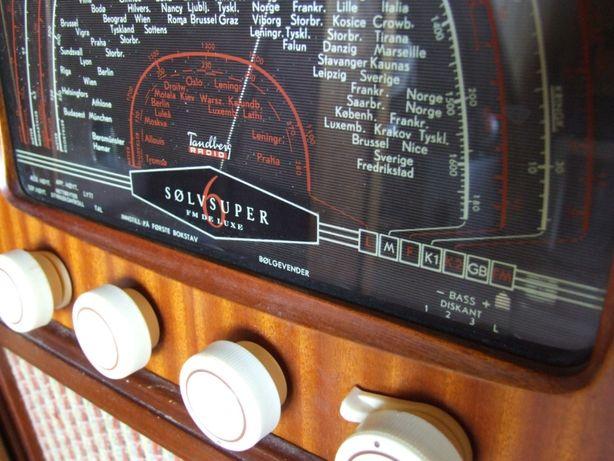 Tandberg Solvsuper 6 FM De Luxe Vintage Unikat Antyk