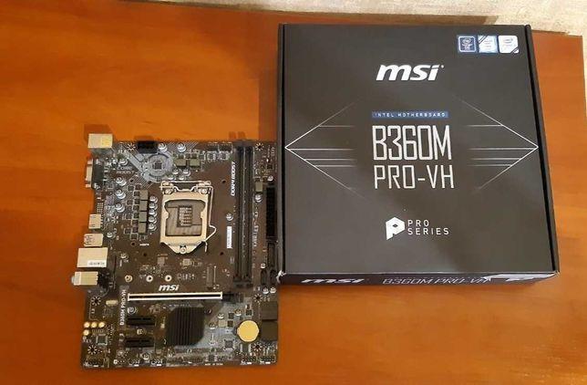 Материнка MSI B360M PRO-VH