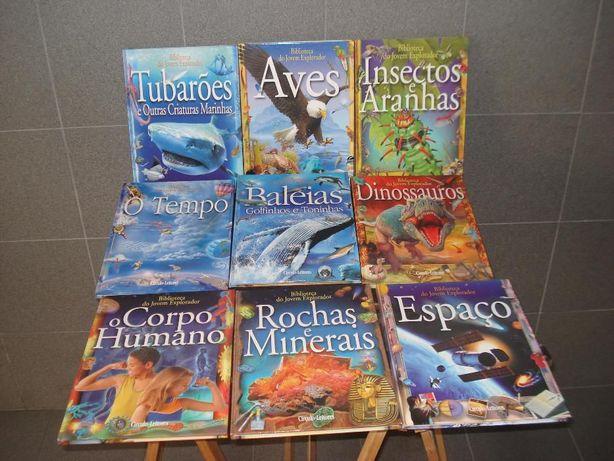 9 Livros Biblioteca do Jovem Explorador