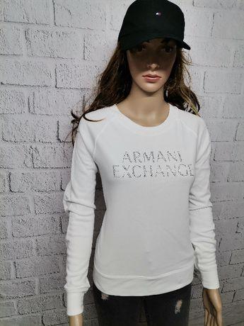 Bluza ARMANI EXCHANGE 7VYM71 YJACZ 1 damska biała NOWY MODEL M 38 !
