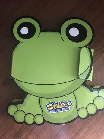 Стикезы Сильпо stikeez жаба