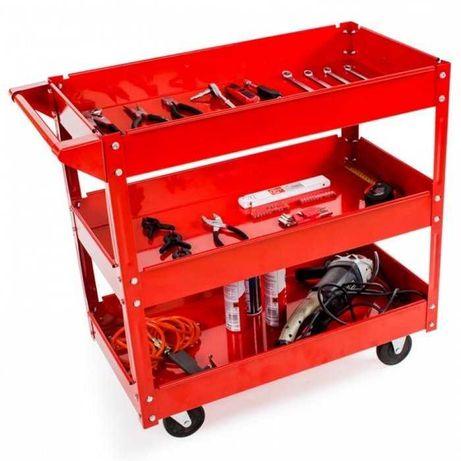 Carro 3 prateleiras para ferramentas