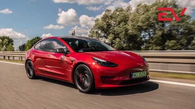 Auto do ślubu - Tesla Model 3 Performance / Polestar 2