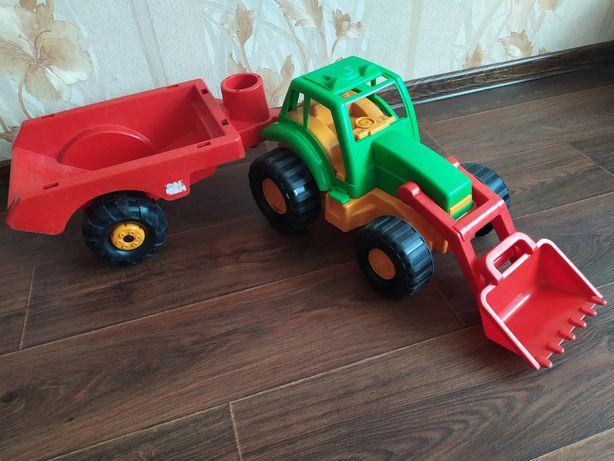 Большой трактор Орион в идеале