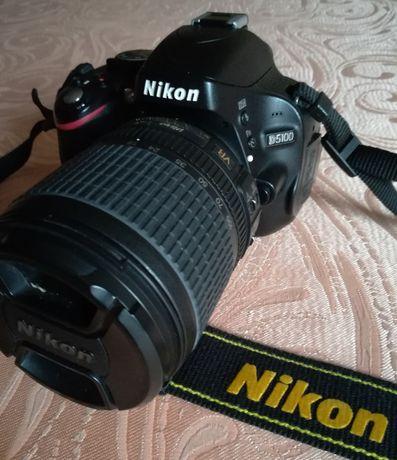 Nikon D5100 AF-S DX Nikkor 18-105 f/3.5-5.6G ED VR Pierwszy właściciel