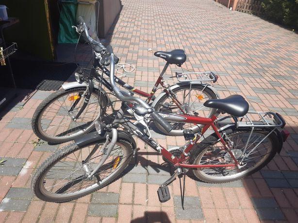 Rower męski raz użyty