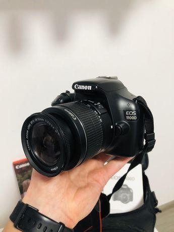 Продам зеркальный фотоаппарат Canon EOS 1100D Kit 18-55