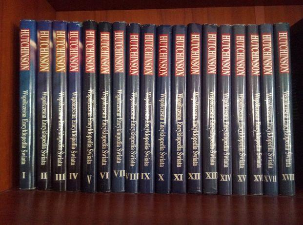 Współczesna encyklopedia świata HUTCHINSON 18 tomów