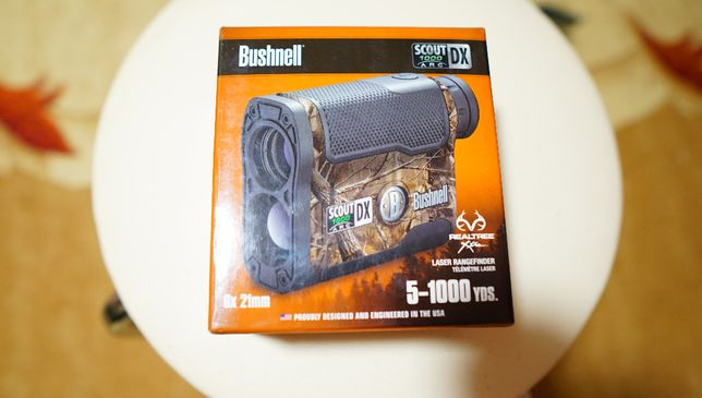 Дальномер Bushnell scout DX 1000 6x21 mm