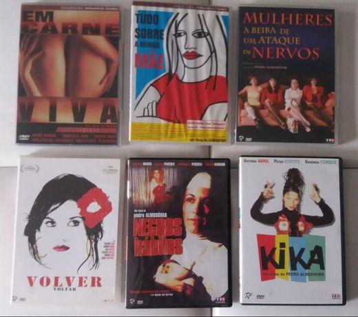 Lote dvds Pedro Almodôvor