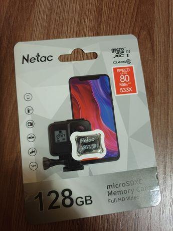 Micro sd 128gb карта памяті