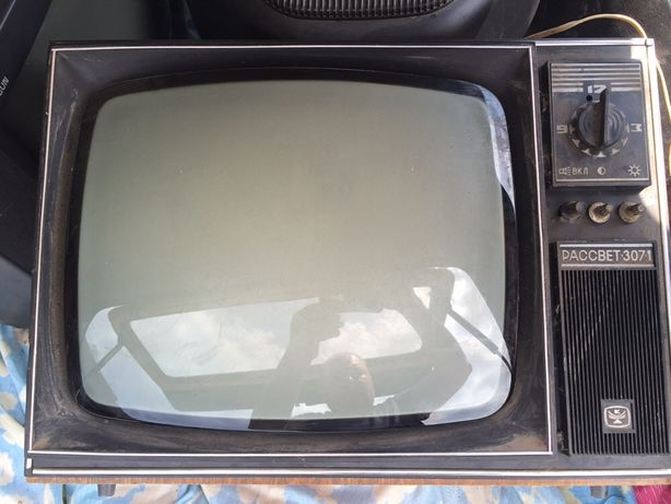 Телевизор рассвет 307-7