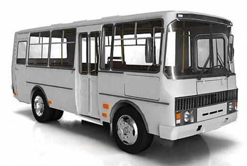 Лобовое стекло ПАЗ 3205 Автобус