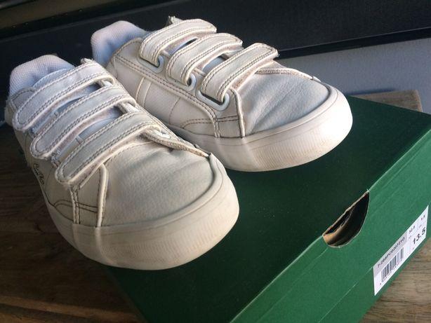 Lacoste buty sportowe 32,5 na rzepy