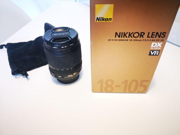 Obiektyw Nikkor 18-105 3,5-5,6 VR