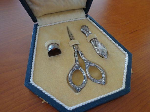 Estojo de Costura em prata