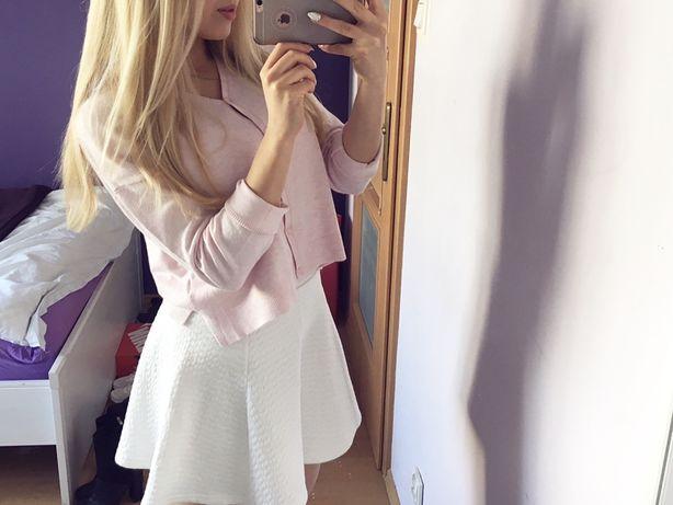 Różowy sweterek Zara