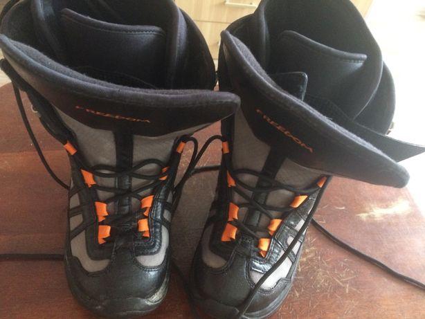 Горнолыжные ботинки, на размер 23-23,5
