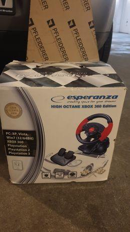 Kierownica do gier, pedały , biegi -PC PSX PS2 PS3