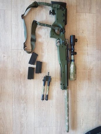 Replika Asg karabin snajperski L96 (well mb08) tuning
