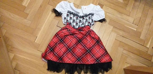 Sukienka przebranie bal przebierańców karnawałowy strój