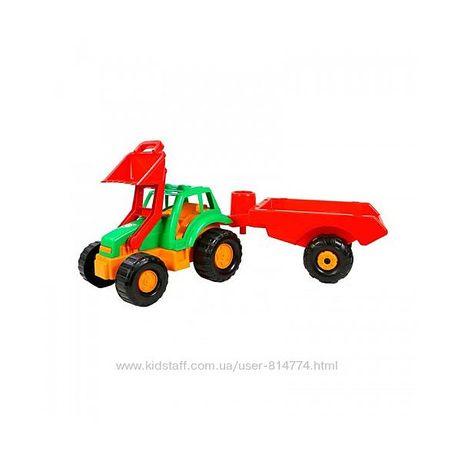 Большой трактор с прицепом ТМ Орион