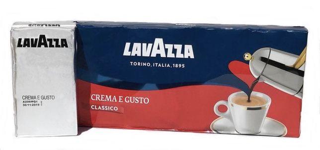 Кофе молотый Лаваца, Lavazza Crema e Gusto 250гр