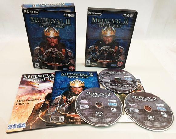 MEDIEVAL II Total War wydanie premierowe PC wersja PL