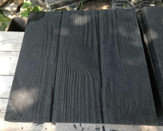 Płyty/Płytki chodnikowe tarasowe betonowe 30x30x3 Drewno Grafit NOWE