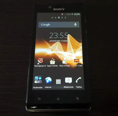 Sony Xperia j model st26i